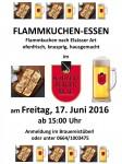 Flammkuchen-Essen 17-06-2016