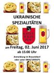 Ukrainische Spezialitäten 02-06-2017