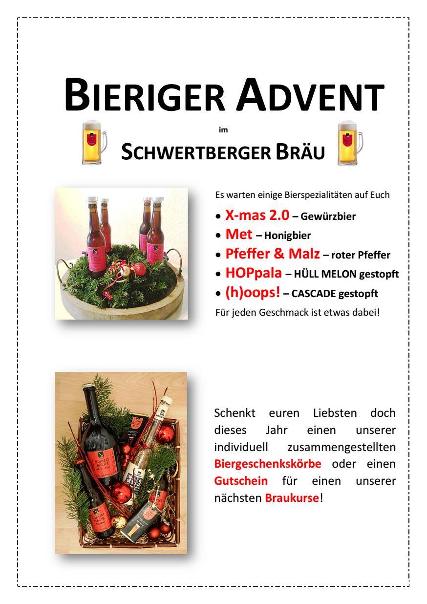 Bieriger Advent 2017